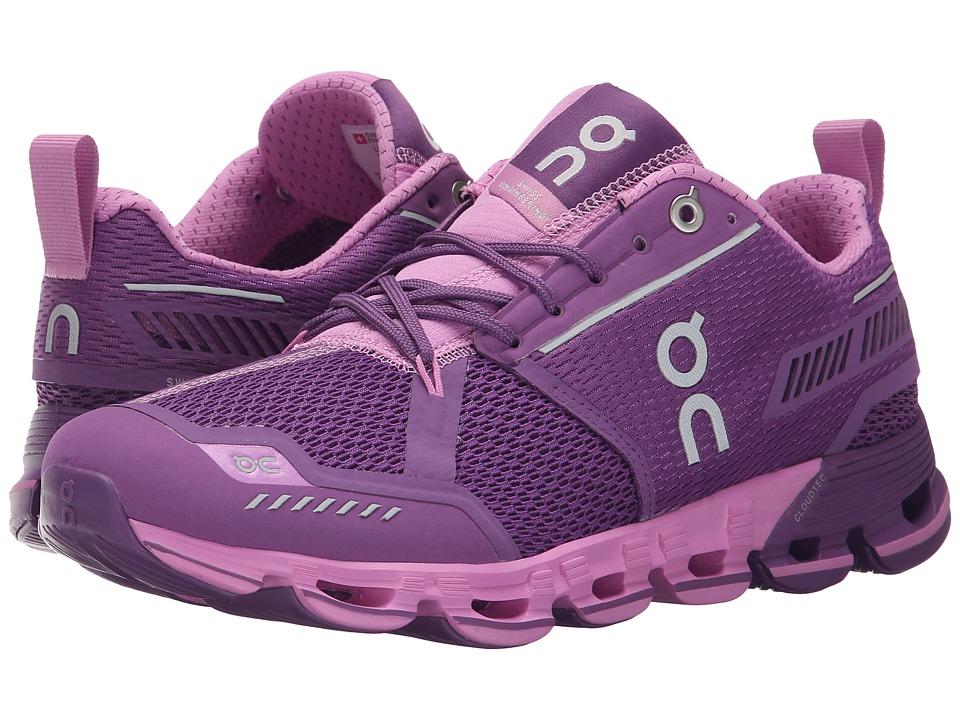 On - Cloudflyer (Purple/Rose) Women's Shoes