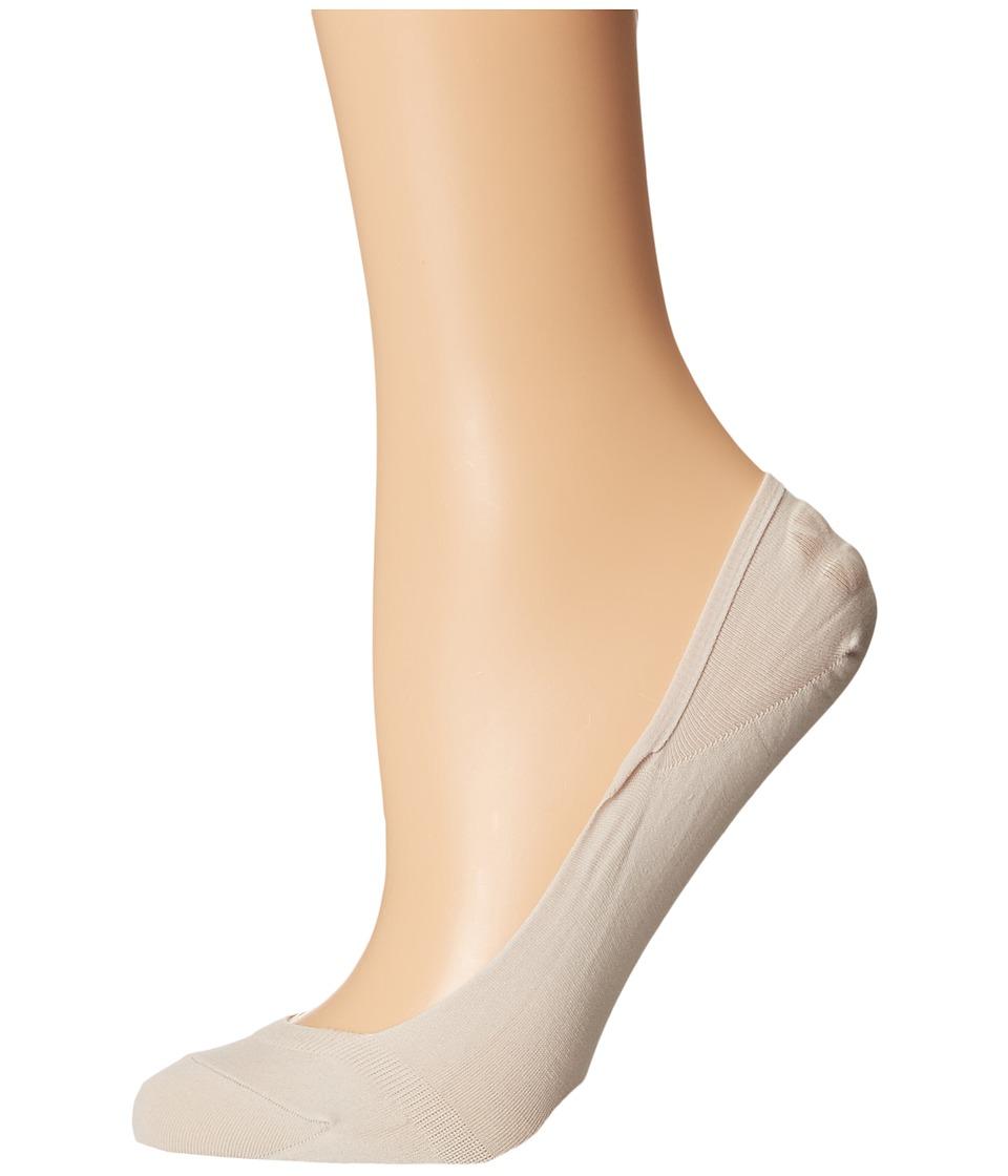 Falke - Cotton Touch Invisible Socks (Cream) Women's Low Cut Socks Shoes