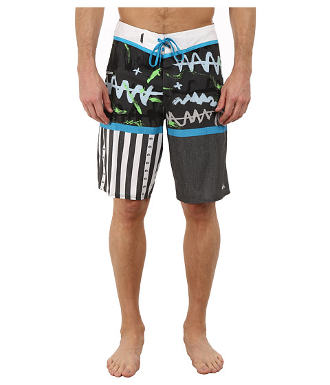 Quiksilver - Remix 21 Boardshorts (Dark Shadow) Men's Swimwear