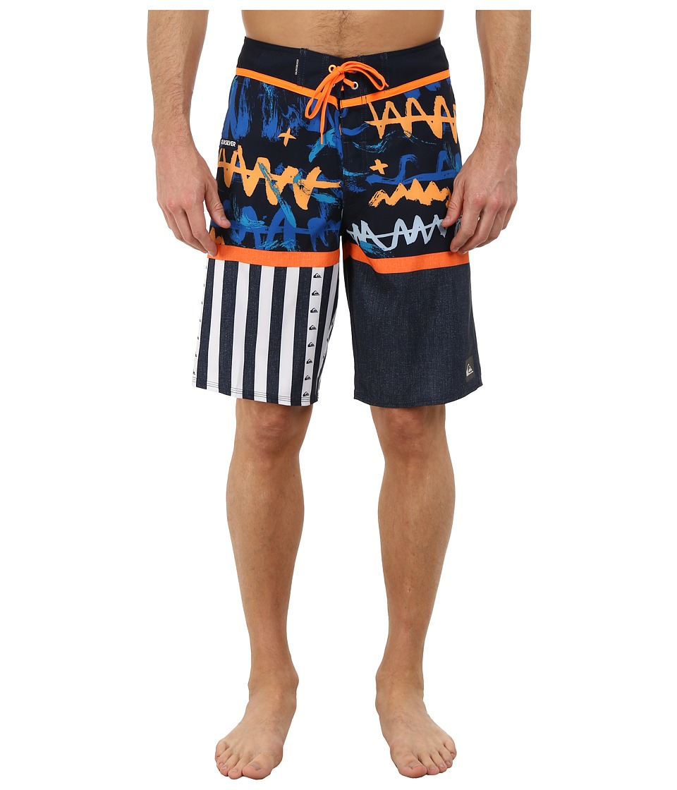 Quiksilver - Remix 21 Boardshorts (Navy Blazer) Men's Swimwear