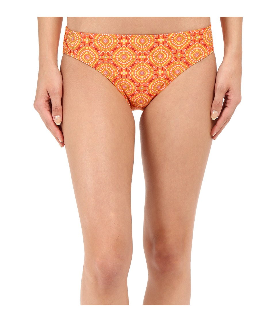 Prana - Lani Bottom (Neon Orange Sundial) Women's Swimwear