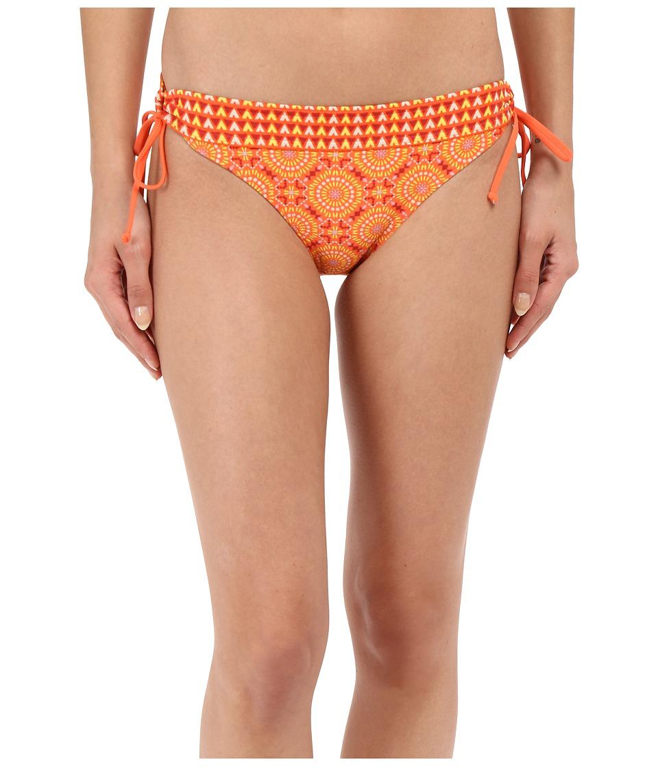 Prana - Saba Bottom (Neon Orange Sundial) Women's Swimwear