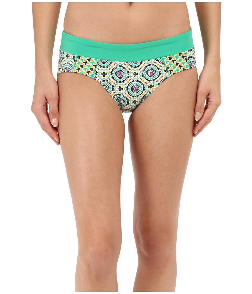 Prana - Zuri Bottom (Cool Green Sundial) Women's Swimwear