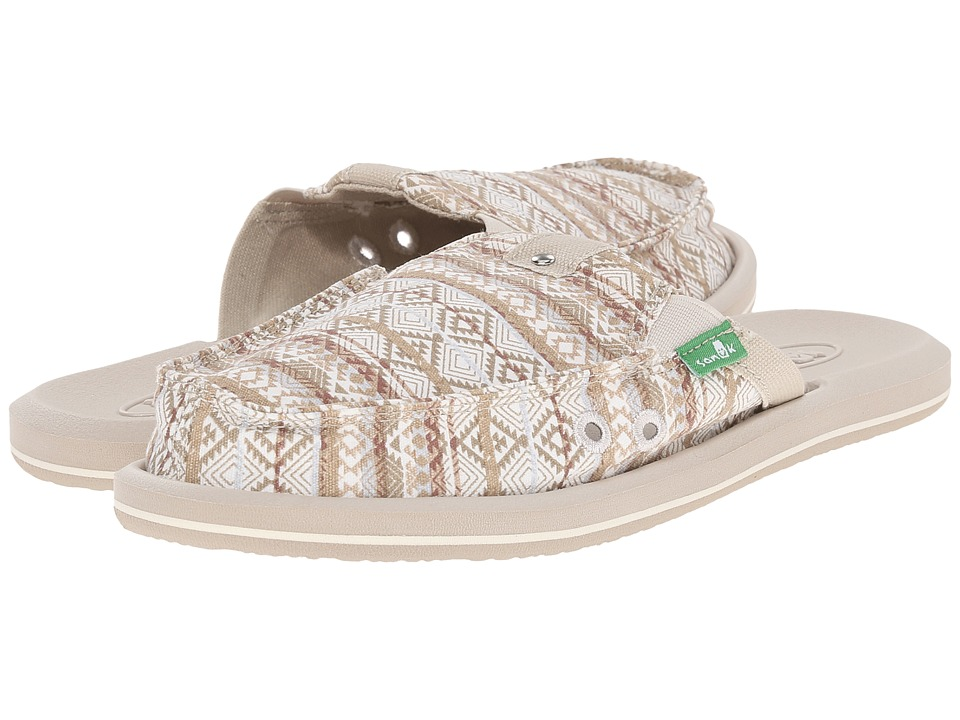 Sanuk - Getaway 2 (Natural/Multi Tribal Stripes) Women