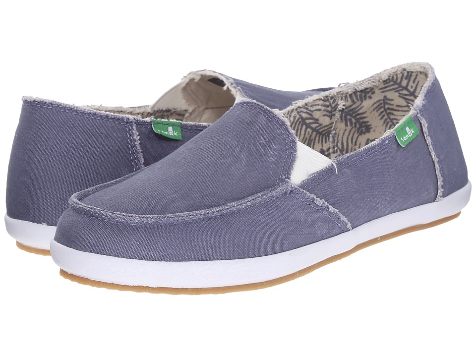 Sanuk - Overboard (Slate Blue) Women's Slip on Shoes