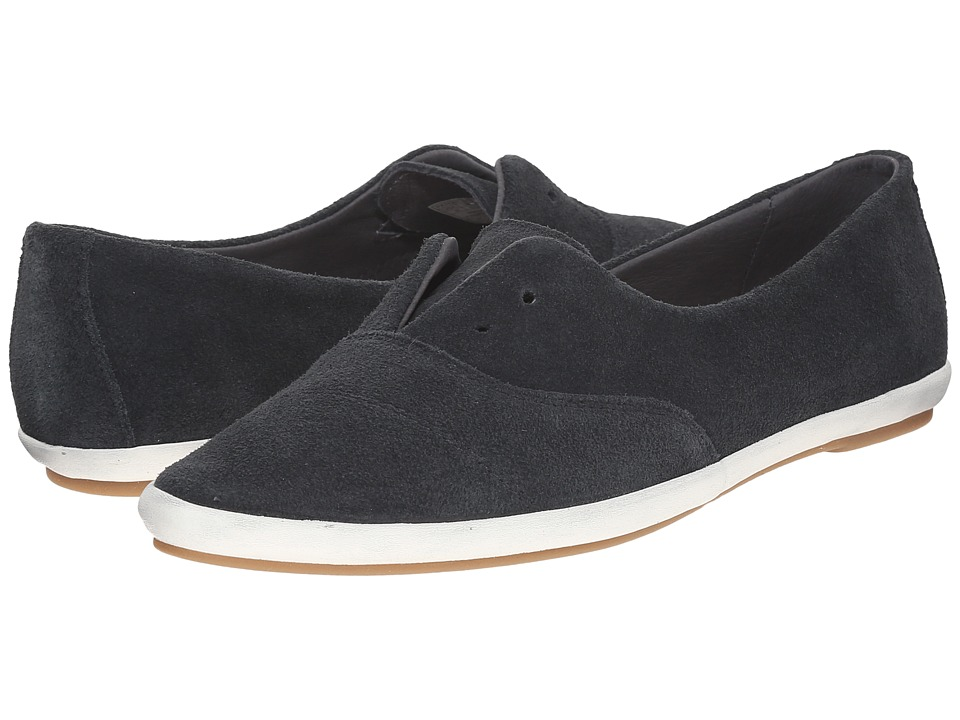 Sanuk - Kat Paw Luxe (Dark Charcoal) Women's Slip on Shoes