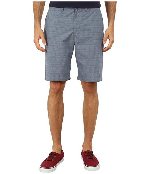Original Penguin - Glen Plaid Shorts (Mazarine Blue) Men