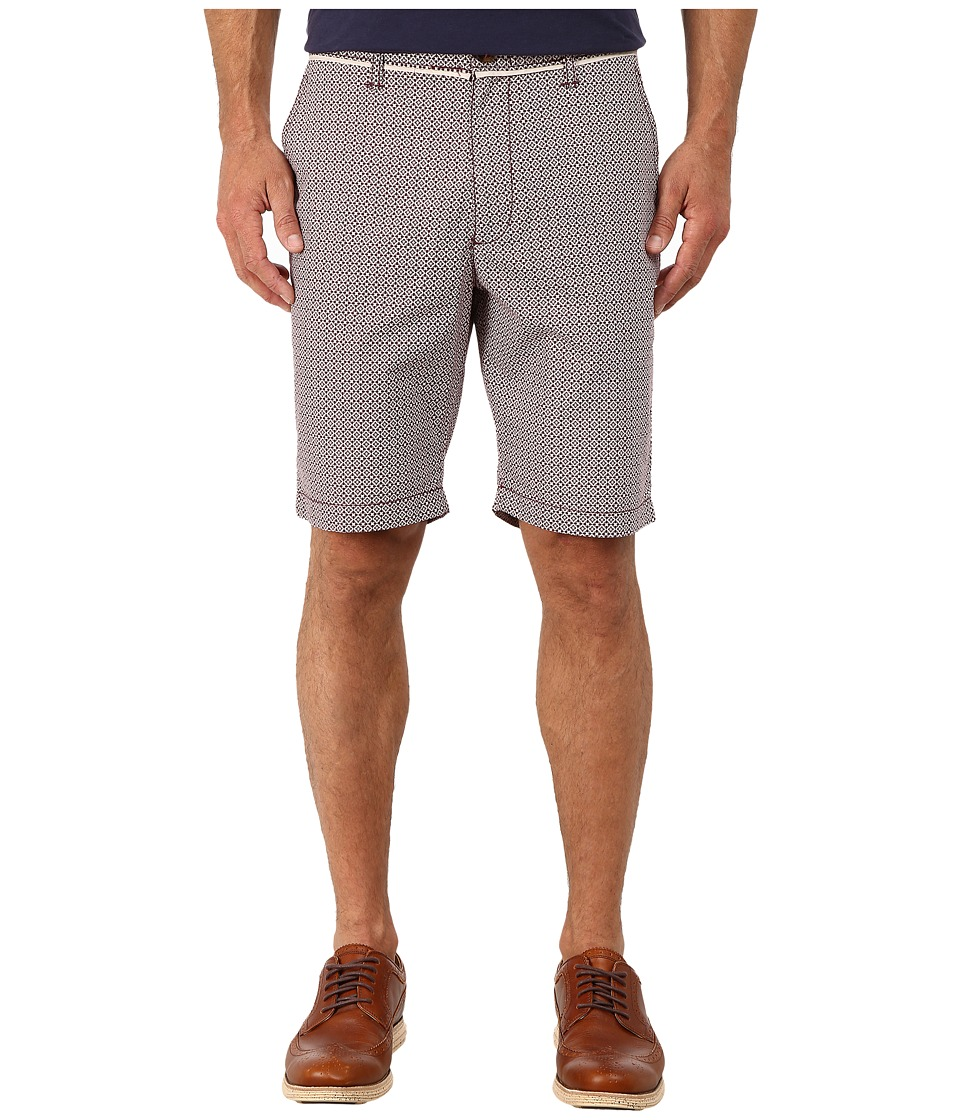 Original Penguin - Foullard Printed Shorts (Grape Wine) Men's Shorts