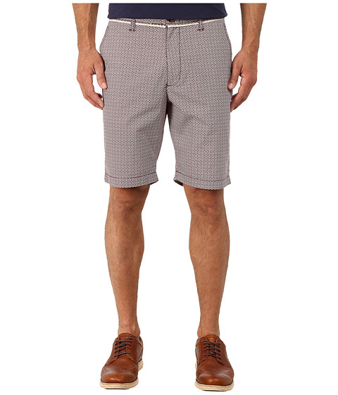 Original Penguin - Foullard Printed Shorts (Grape Wine) Men