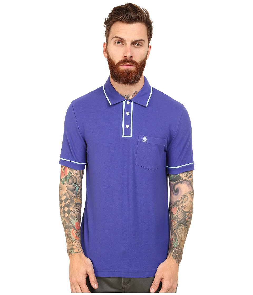 Original Penguin - Earl Polo (Royal Blue) Men's Clothing