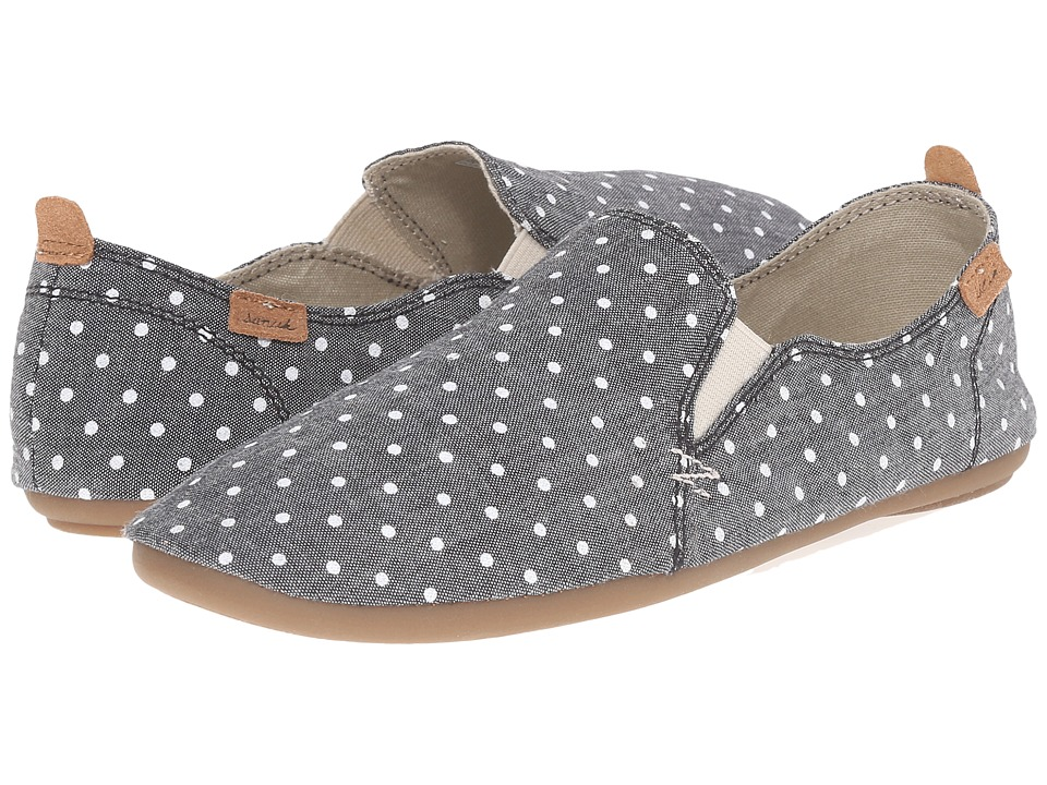 Sanuk Isabel Prints (Black/White Dots) Women
