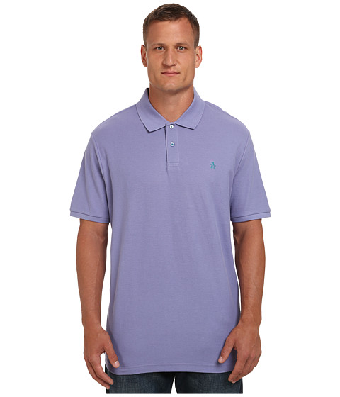 Original Penguin - Big Tall Daddy-O Polo (Lavender Violet) Men