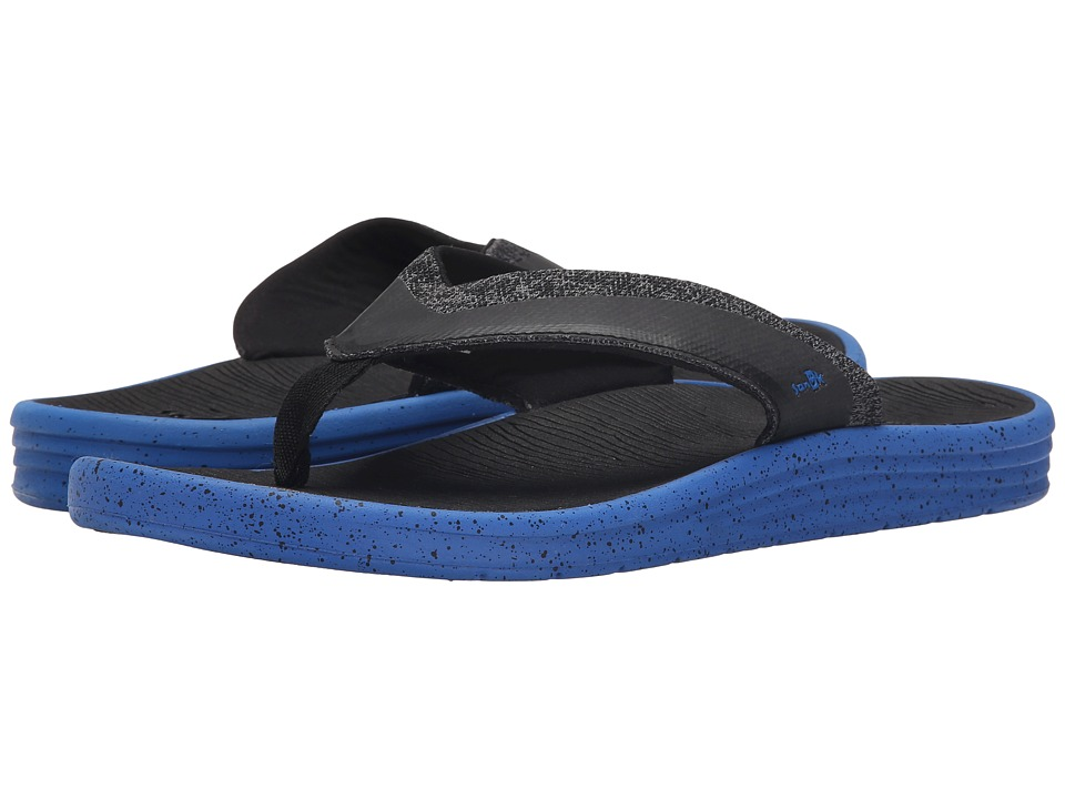 Sanuk - Compass (Royal/Black) Men's Sandals