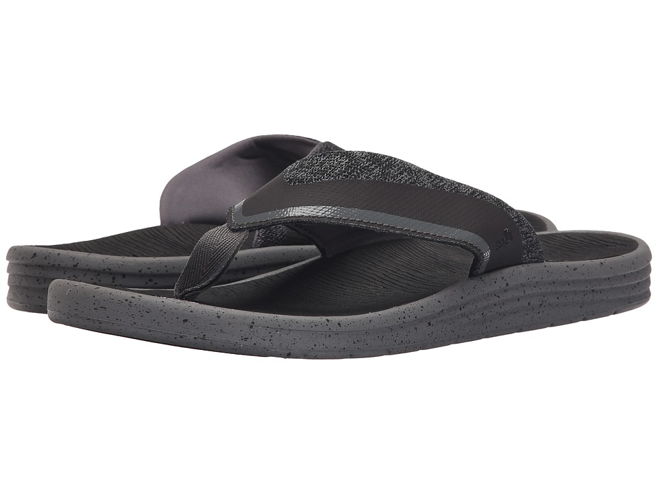 Sanuk - Compass (Charcoal/Grey) Men's Sandals