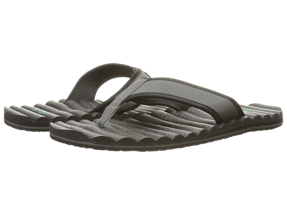 Sanuk - Beer Cozy Hop Top (Grey) Men's Sandals