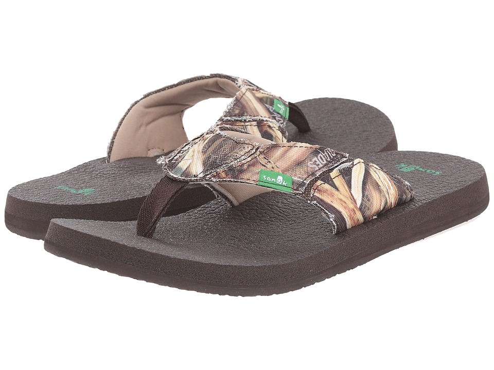 Sanuk - Fault Line Blades (Mossy Oak) Men's Sandals