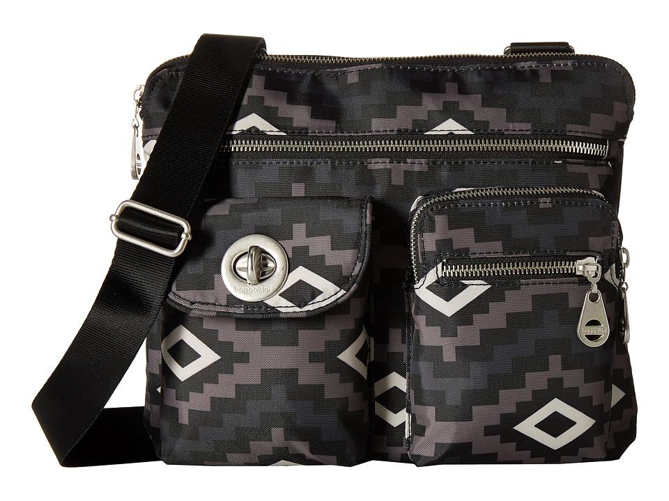 Baggallini - Sydney Bagg (Aztec Black) Cross Body Handbags
