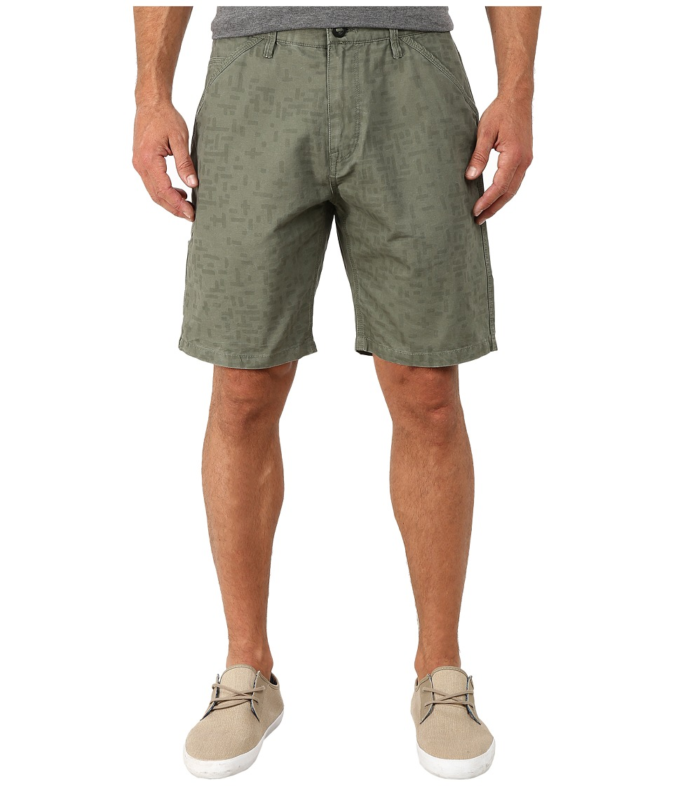 Volcom - Tannar Shorts (Olive) Men's Shorts