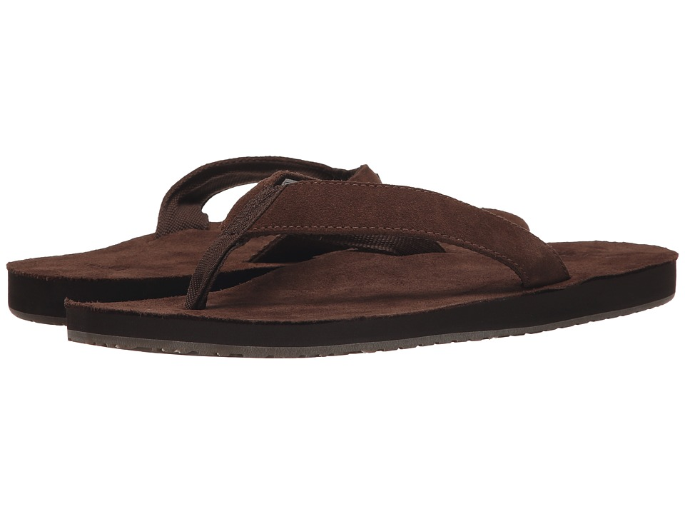 Sanuk Fraid Suede (Brown) Men
