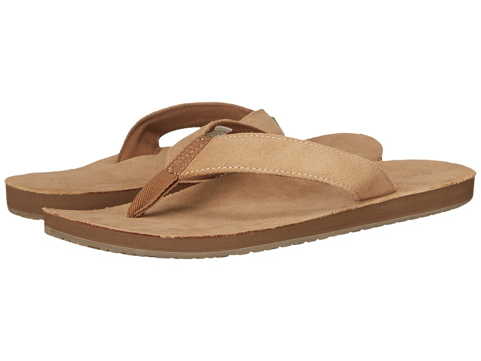 Sanuk Fraid Suede (Tan) Men