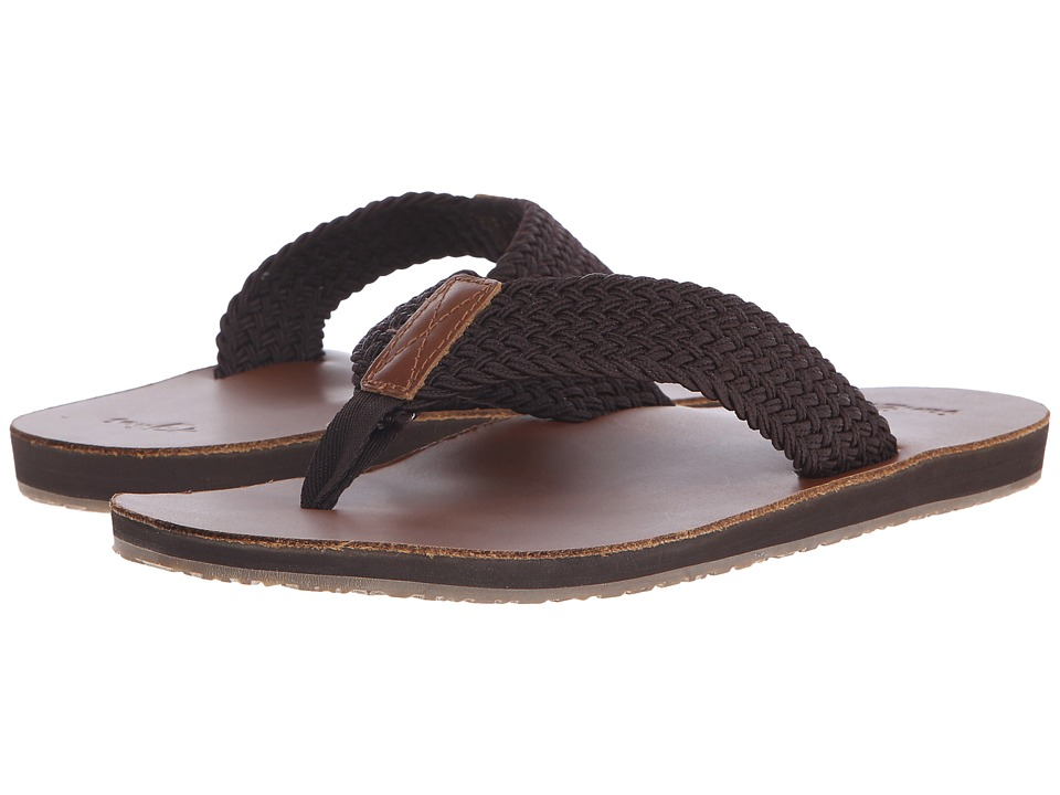 Sanuk - John Doe Braided (Brown) Men's Sandals