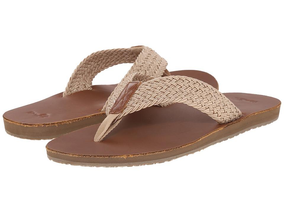 Sanuk - John Doe Braided (Tan) Men's Sandals