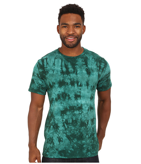 Volcom - Ice Wash Solid Short Sleeve Tee (Grass Green) Men's T Shirt