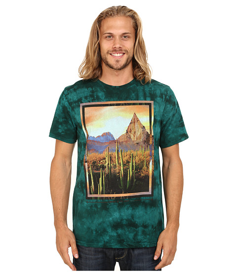 Volcom - The Dawn Short Sleeve Tee (Grass Green) Men's T Shirt