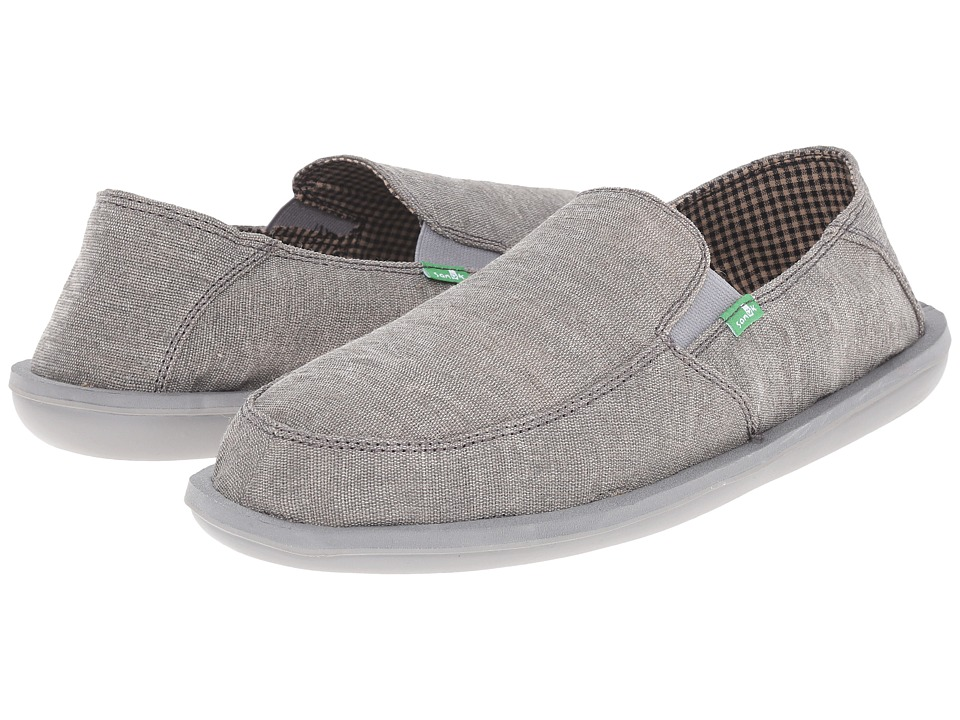 Sanuk - Vice (Charcoal Vintage) Men's Slip on Shoes