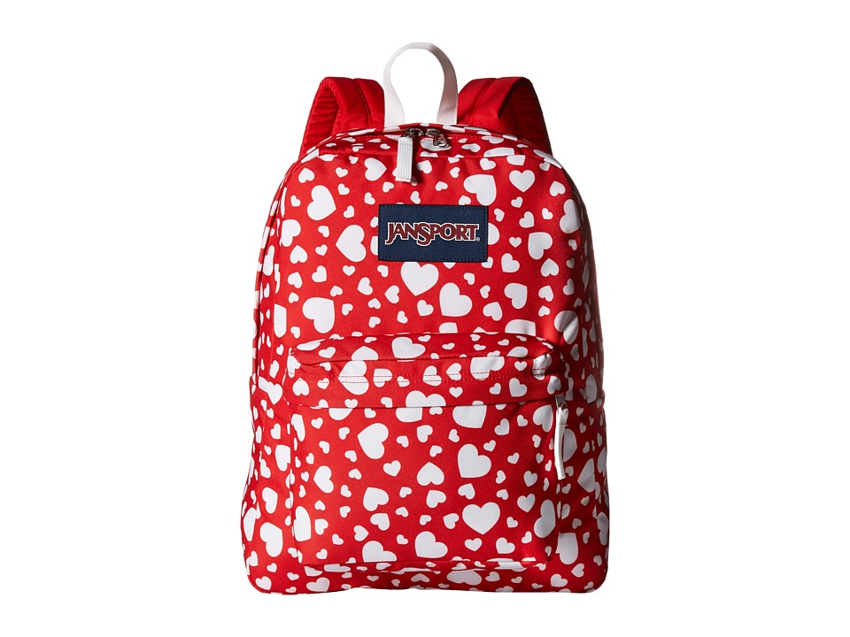 JanSport - SuperBreak (Red Heart to Resist) Backpack Bags