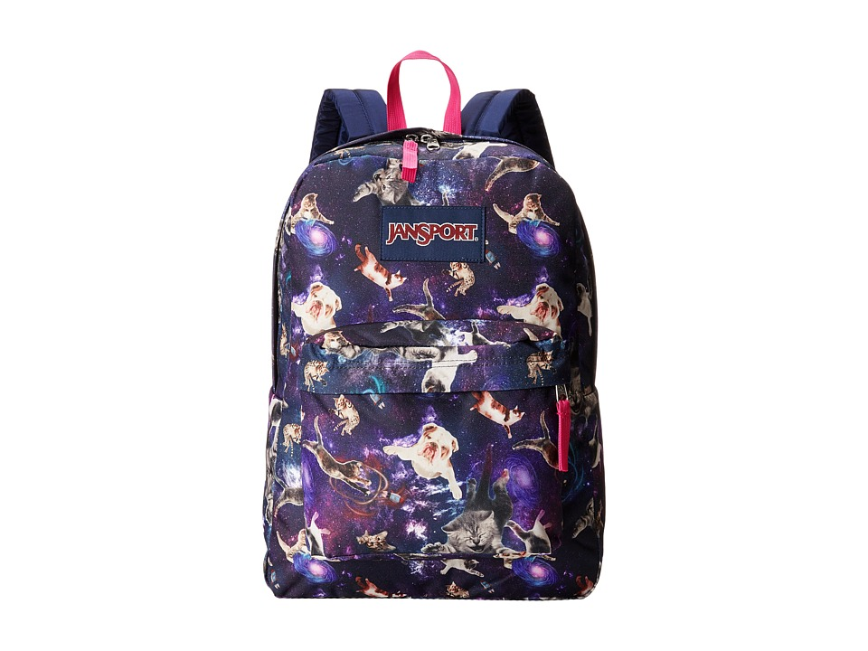 JanSport - SuperBreak (Multi Astro Kitty) Backpack Bags