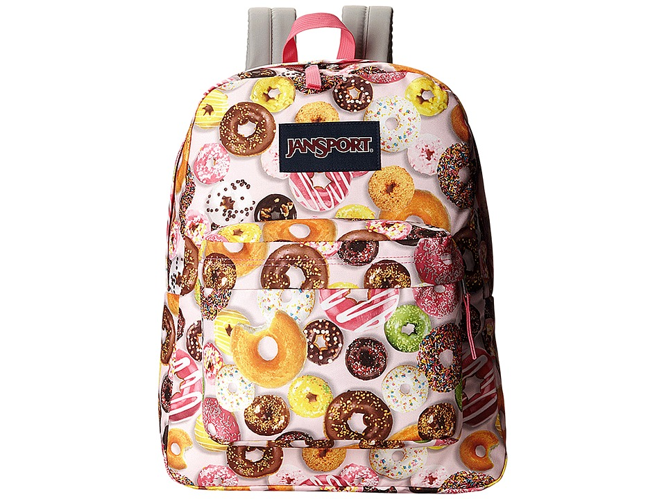 JanSport - SuperBreak (Multi Donuts) Backpack Bags