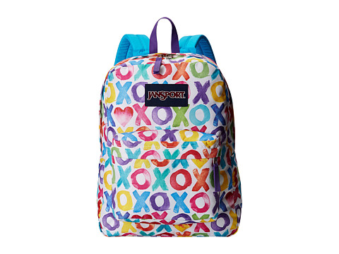 JanSport - SuperBreak (Multi X O X) Backpack Bags