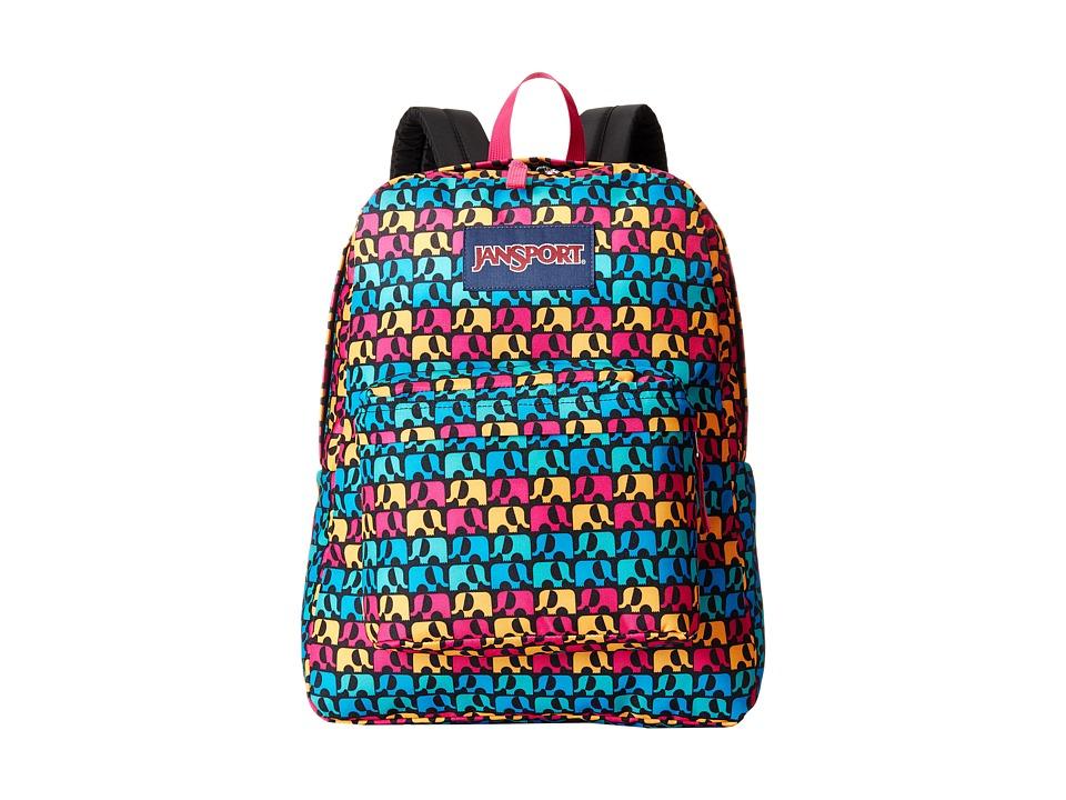 JanSport - SuperBreak (Black Ele France) Backpack Bags