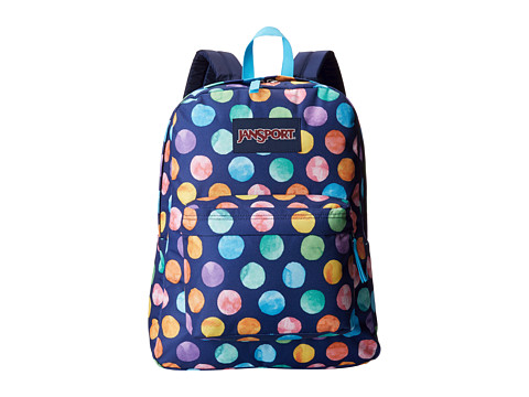 JanSport - SuperBreak (Multi Watercolor Spots) Backpack Bags