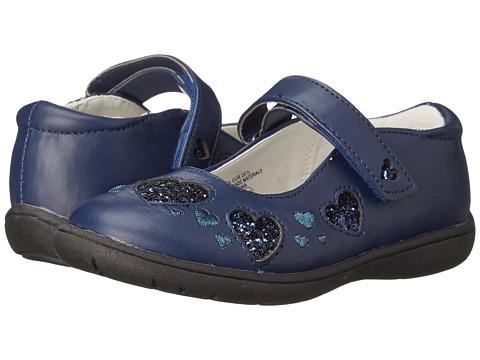 Nina Kids - Addie (Toddler/Little Kid) (Navy Wrinkle) Girls Shoes
