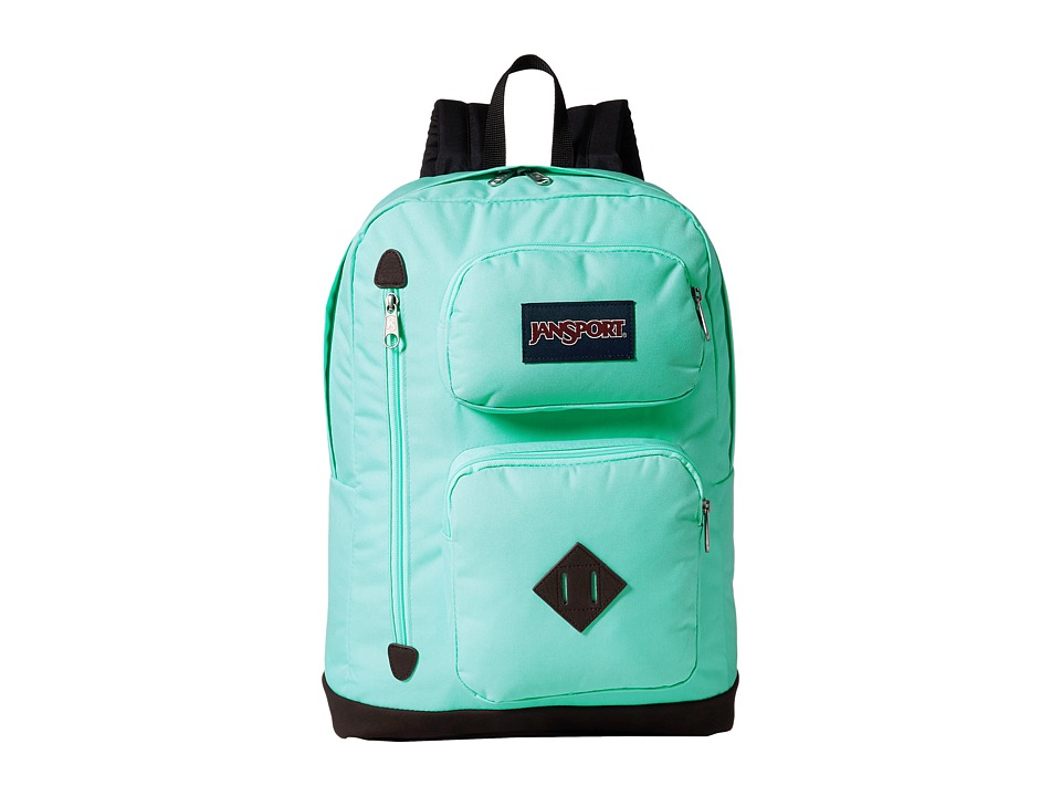 JanSport - Austin (Aqua Dash) Backpack Bags