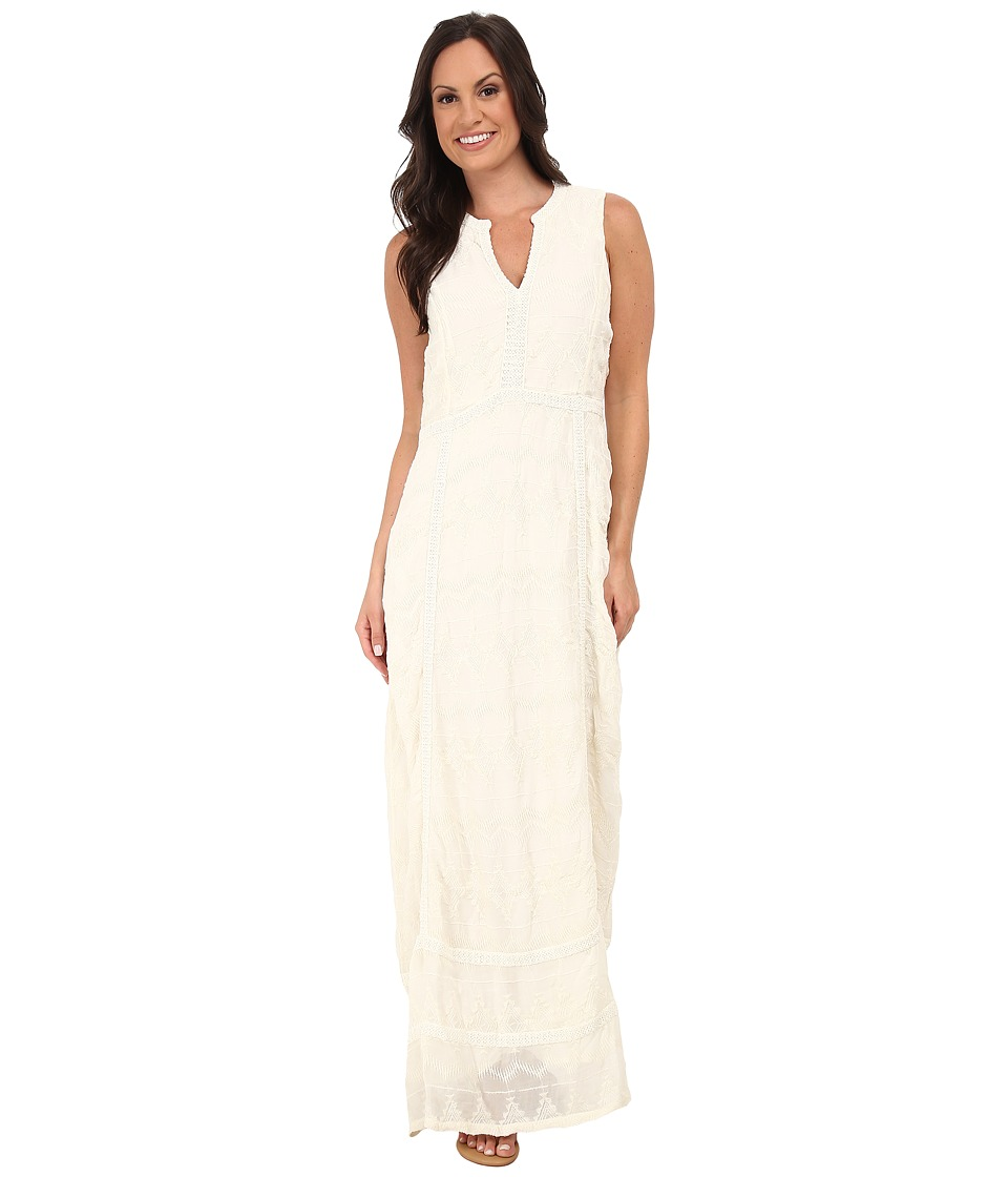 Lucky Brand - Mixed Lace Dress (Ivory) Women's Dress