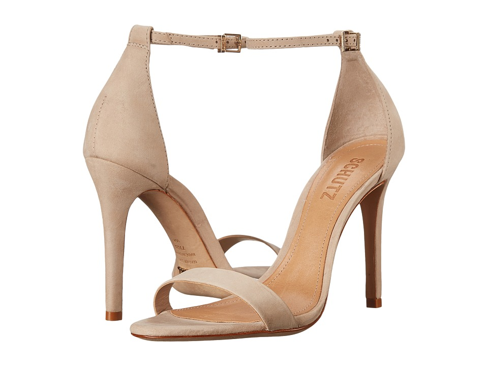 Schutz Cadey-Lee (Oyster) High Heels