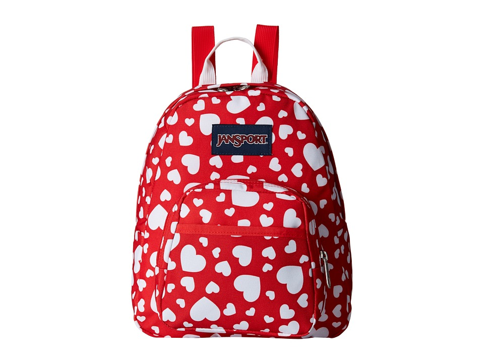 JanSport - Half Pint (Red Heart to Resist) Backpack Bags