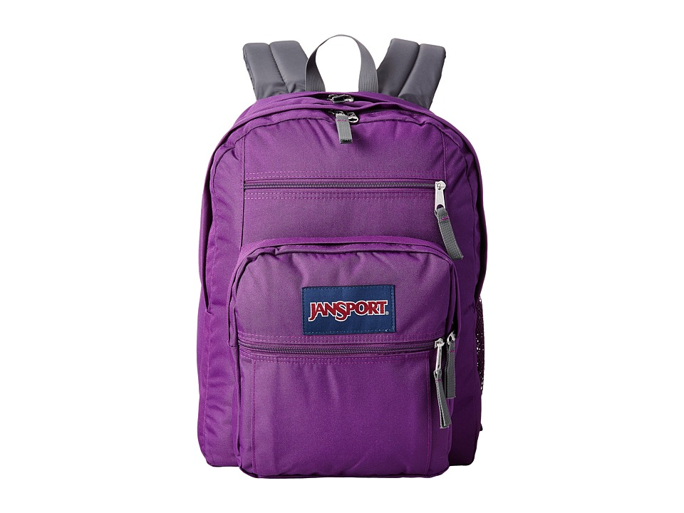 JanSport - Big Student (Vivid Purple) Backpack Bags