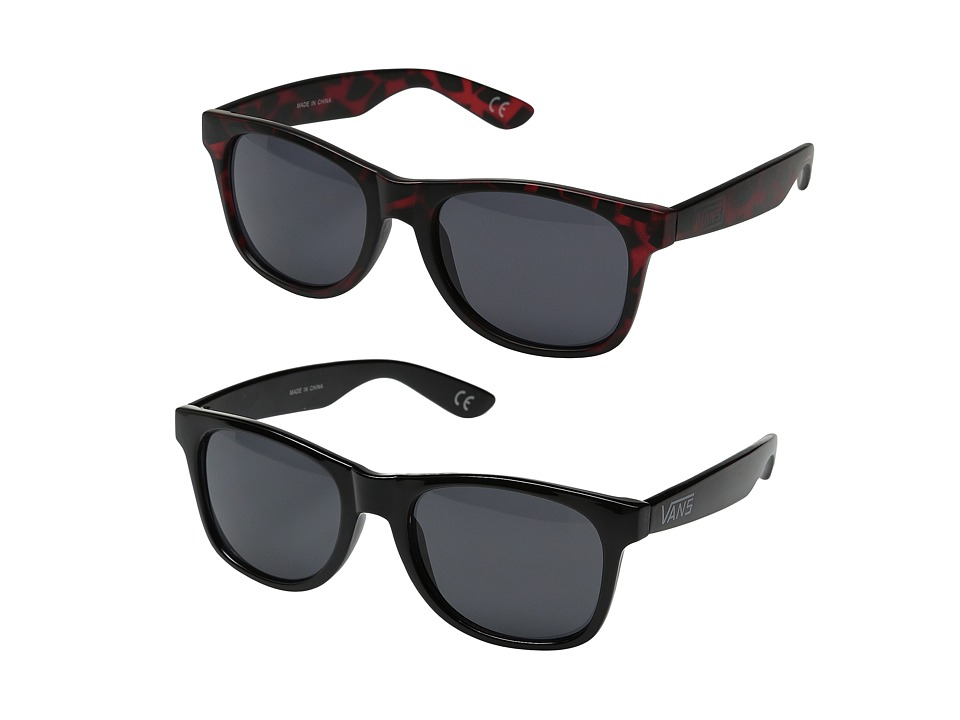 Vans - Spicoli 4 Two-Pack (Matte Finish/Port Tortoise) Fashion Sunglasses