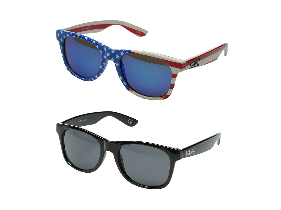 Vans - Spicoli 4 Two-Pack (Flag Pack) Fashion Sunglasses