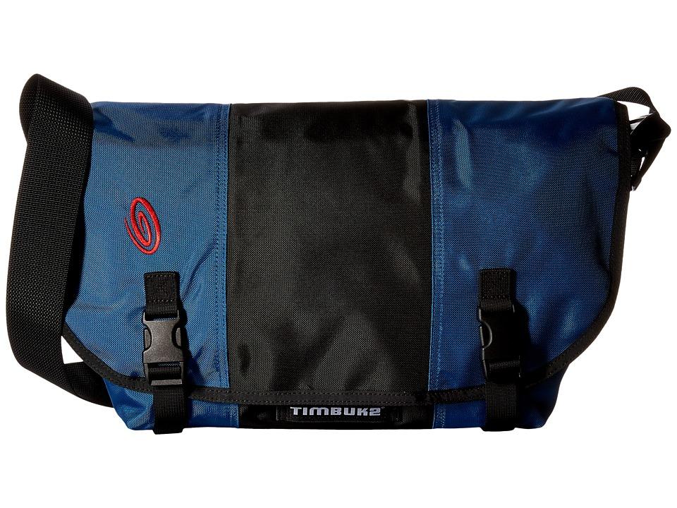 Timbuk2 - Classic Messenger - Medium (Blue/Black/Blue) Bags