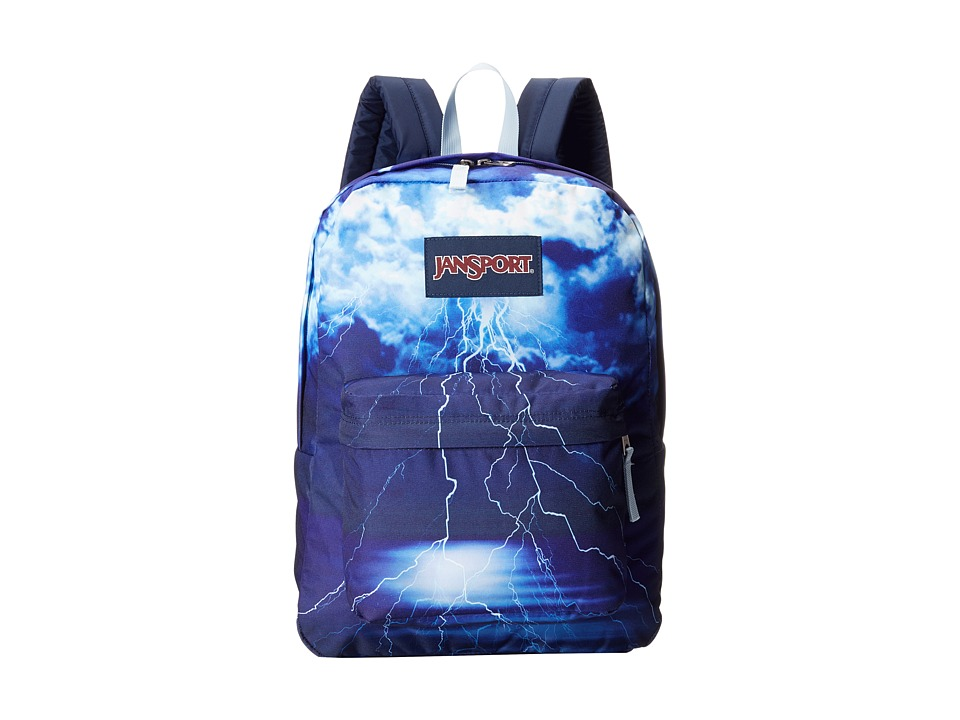 JanSport - High Stakes (Multi Lightening Strike) Backpack Bags