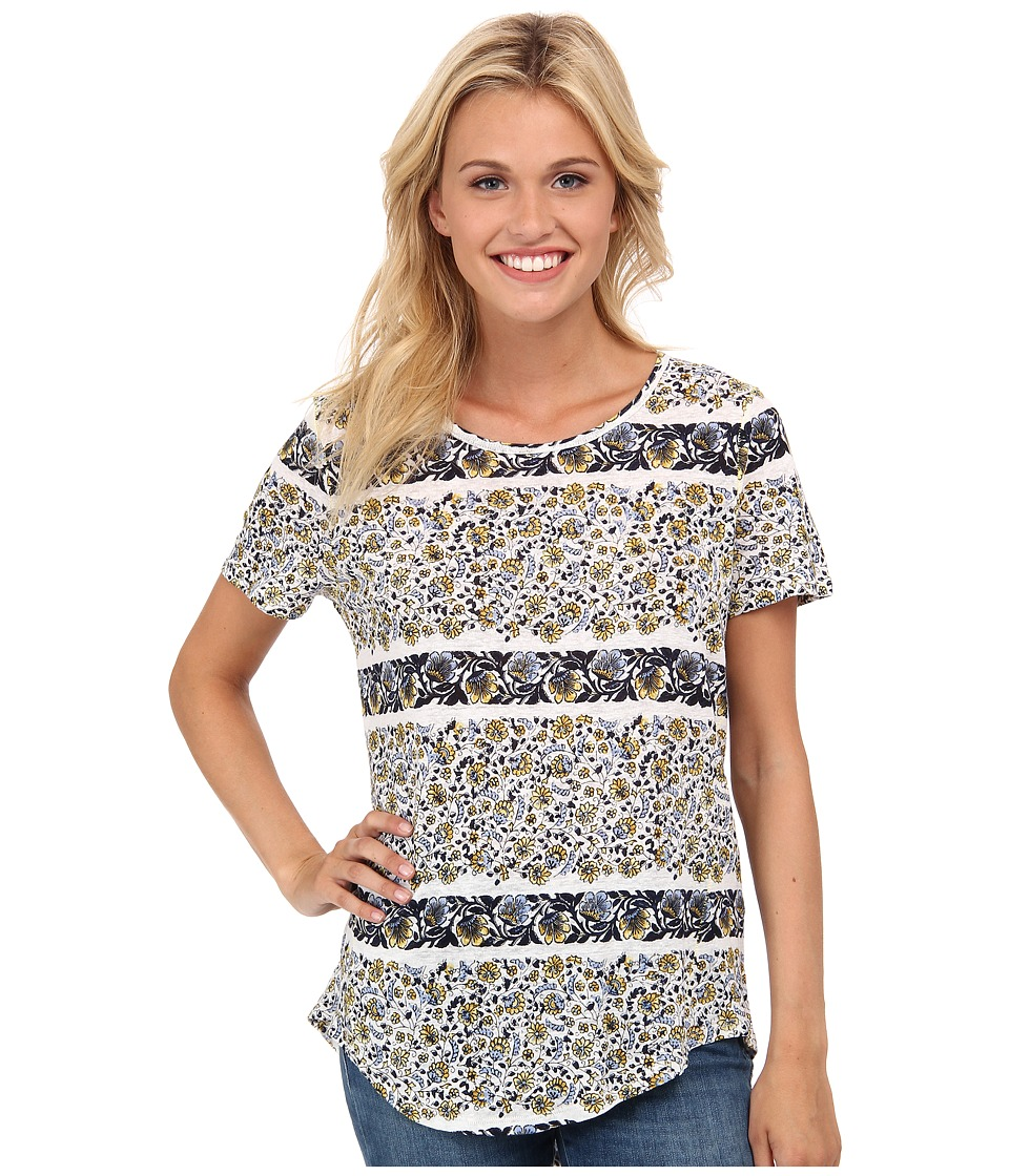 Lucky Brand - Printed Basic Tee (Multi) Women's T Shirt