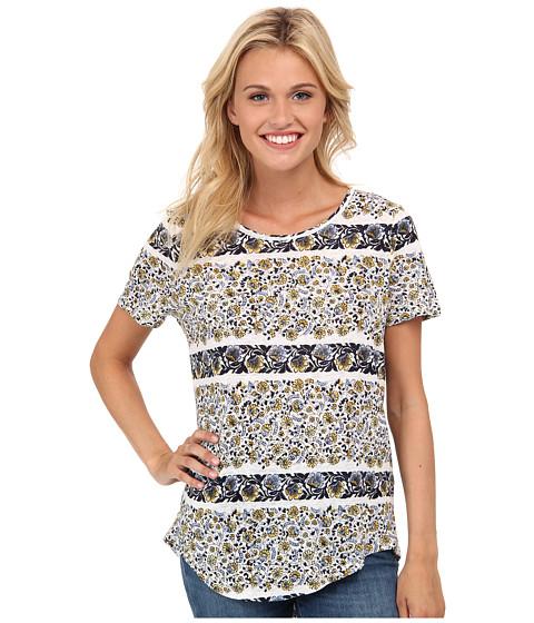 Lucky Brand - Printed Basic Tee (Multi) Women's T Shirt