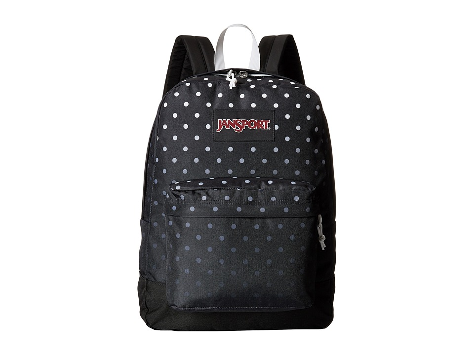 JanSport - Black Label SuperBreak (Black Fading Spots) Backpack Bags