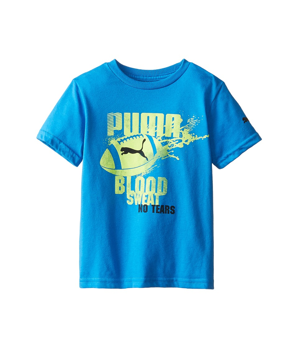 Puma Kids - Football Splat Tee (Little Kids) (Sky Blue) Boy