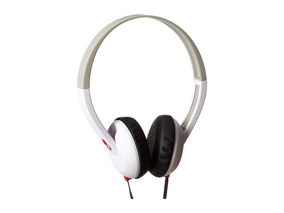 Skullcandy - Uproar (White/Gray/Red) Headphones